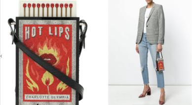 Hot Lips Clutch $2,356 28/3/18 @Farfetch