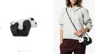 Panda Mini Leather Bag $1,750 28/3/18 @Farfetch