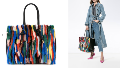 Shopper Tote Bag $5,987 28/3/18 @Farfetch