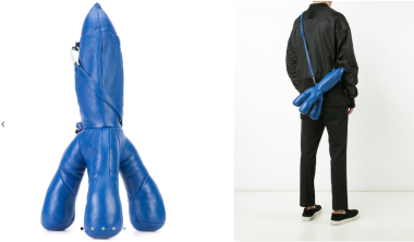 Rocket Clutch Bag $737 28/3/18 @Farfetch
