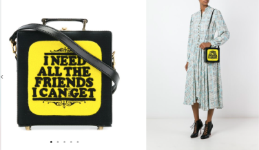 Book Shoulder Bag $3,712 28/3/18 @Farfetch