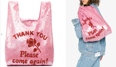 Thank You Sequin Embellished Tote $806 28/3/18 @Farfetch