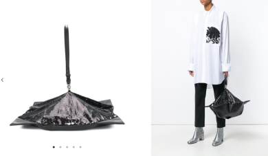 Collapsible bag $2,398 28/3/18 @Farfetch